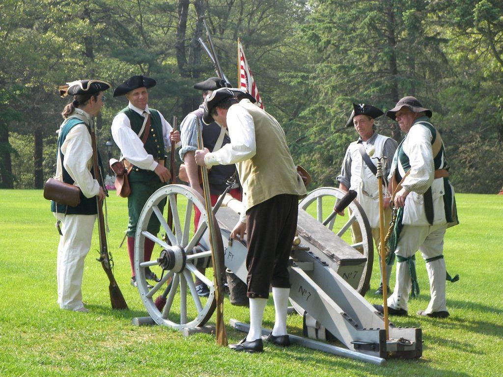 militiamen at Heritage of West Nyack Fall Festival