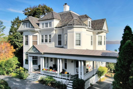 1878 riverfront home in Nyack, New York