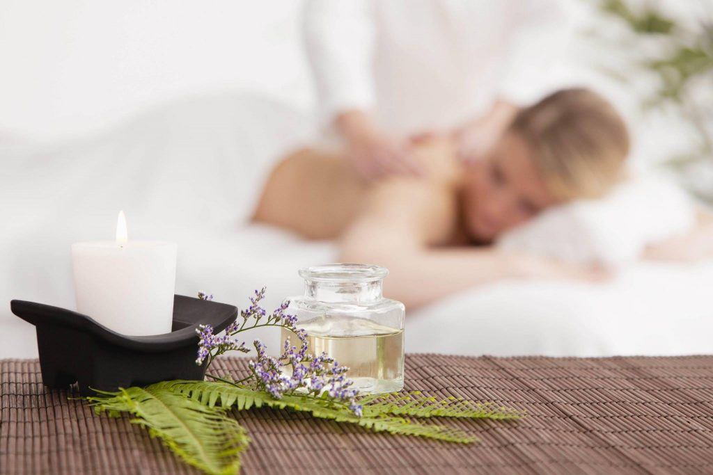 Riverview Salon & Day Spa massage with candle and oil in Newburgh, New York