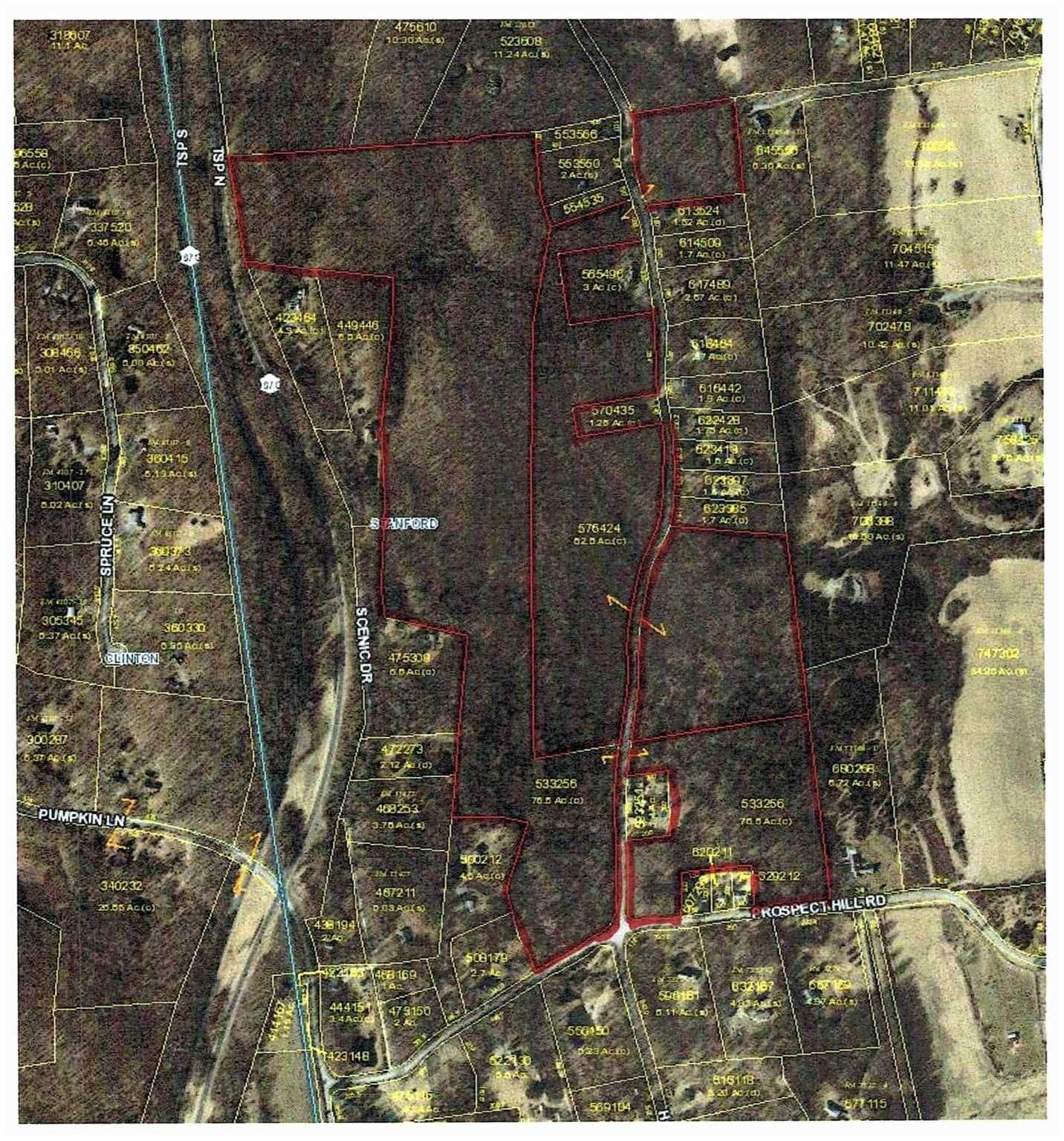 Land for Sale at 339 PROSPECT HILL ROAD Stanfordville, New York 12514 United States