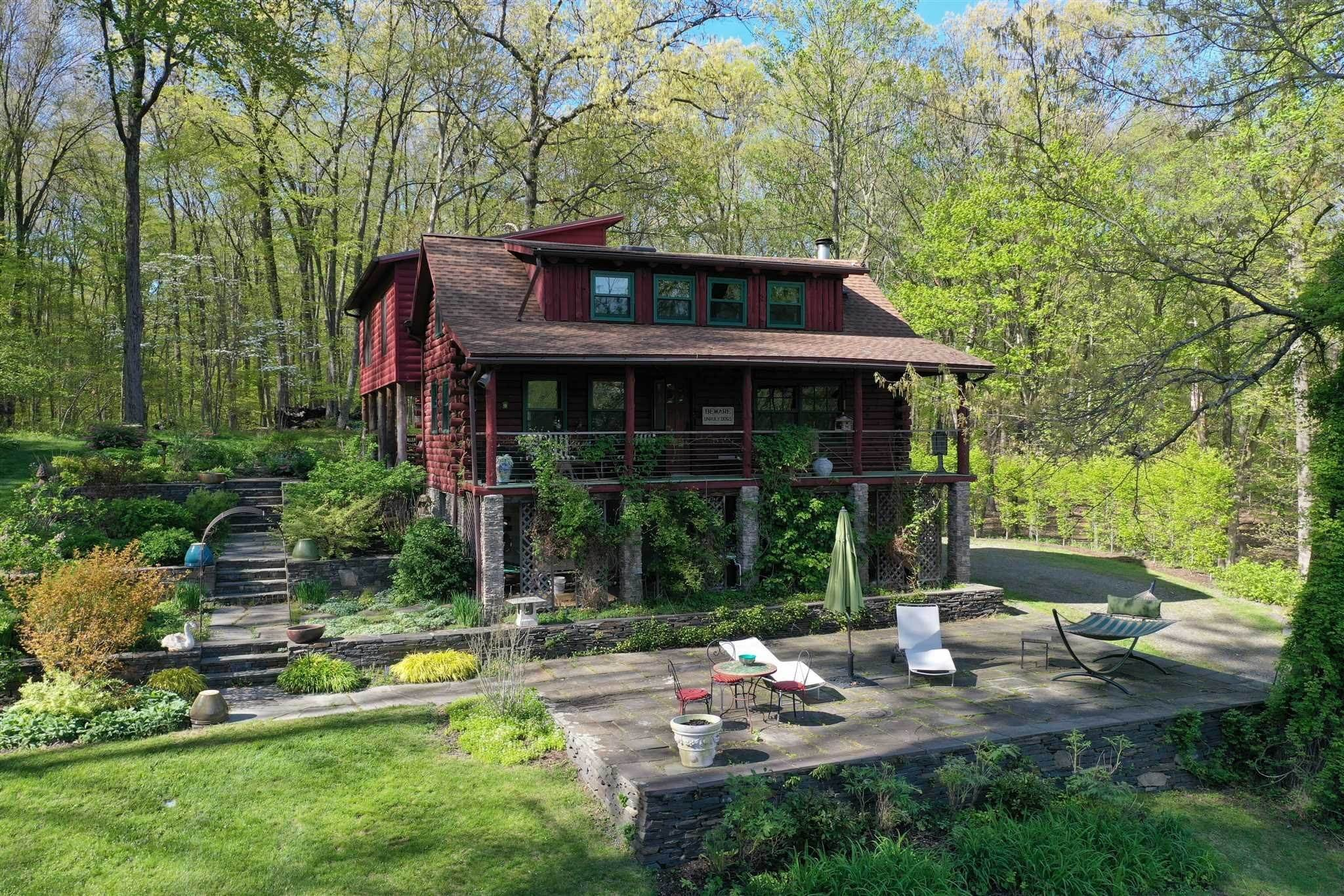 Single Family Homes for Sale at 247 CEDAR HEIGHTS Road Rhinebeck, New York 12572 United States