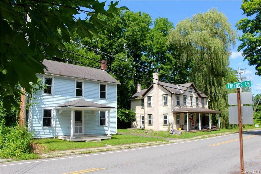 Residential Income للـ Sale في 9-11 Main Street, Rochester, NY 12404 Accord, New York 12404 United States
