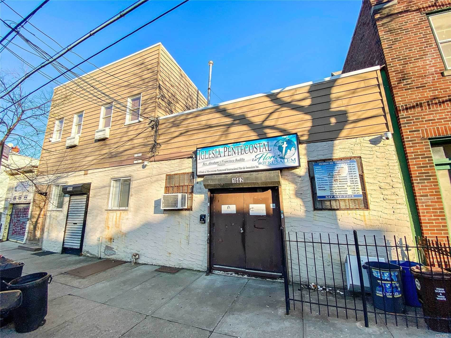 Residential Income for Sale at 1666/1662 Stephen Street Ridgewood, New York 11385 United States