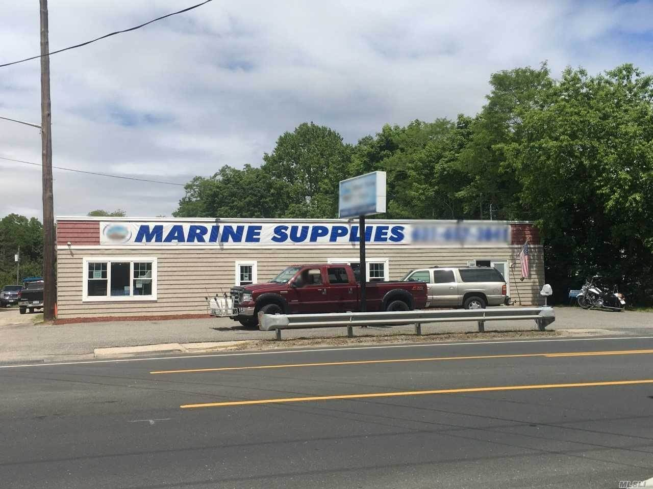 Business Opportunity for Sale at 66 aka 157 Montauk Highway Moriches, New York 11955 United States
