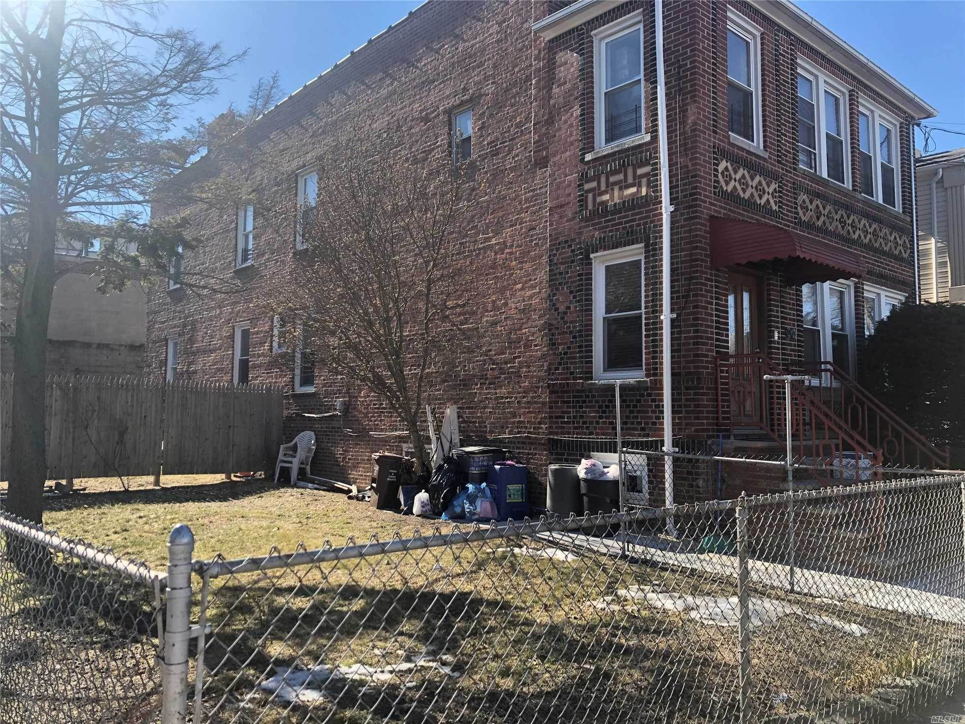 Residential Income for Sale at 8644 103rd Avenue Ozone Park, New York 11416 United States