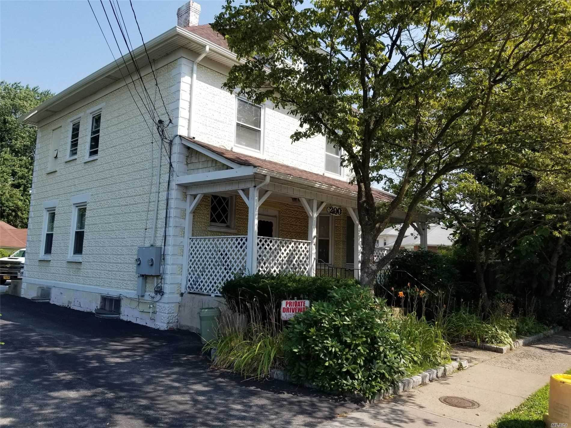 Residential Income for Sale at 200 Woodbury Road, Hicksville, NY 11801 Hicksville, New York 11801 United States