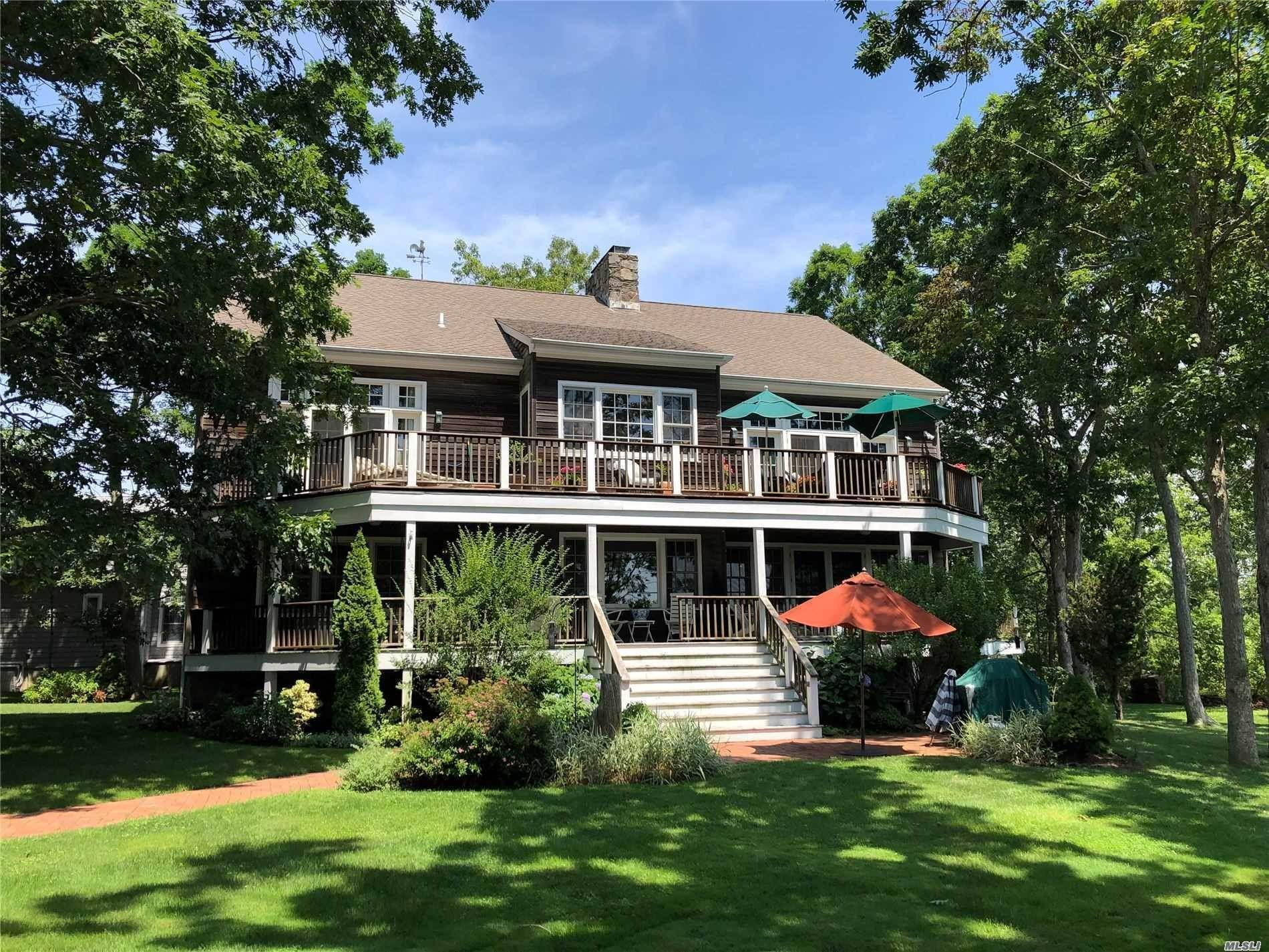 Residential for Sale at 1395 Sleepy Hollow Lane, Southold, NY 11971 Southold, New York 11971 United States