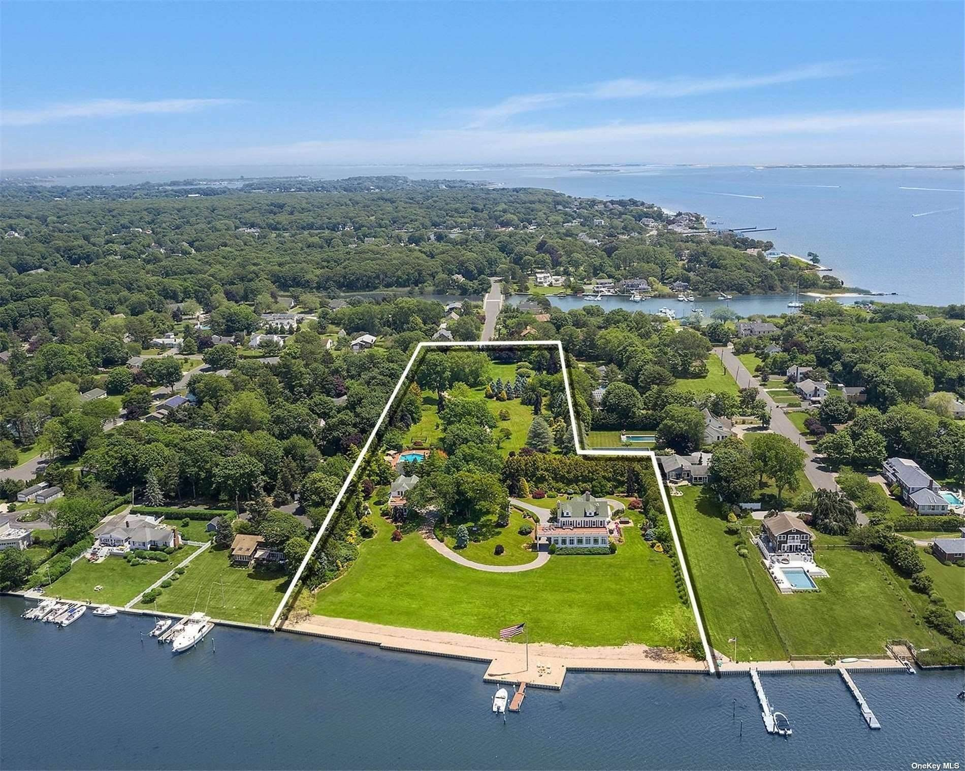 Residential for Sale at 104 Union Avenue, Center Moriches, NY 11934 Center Moriches, New York 11934 United States