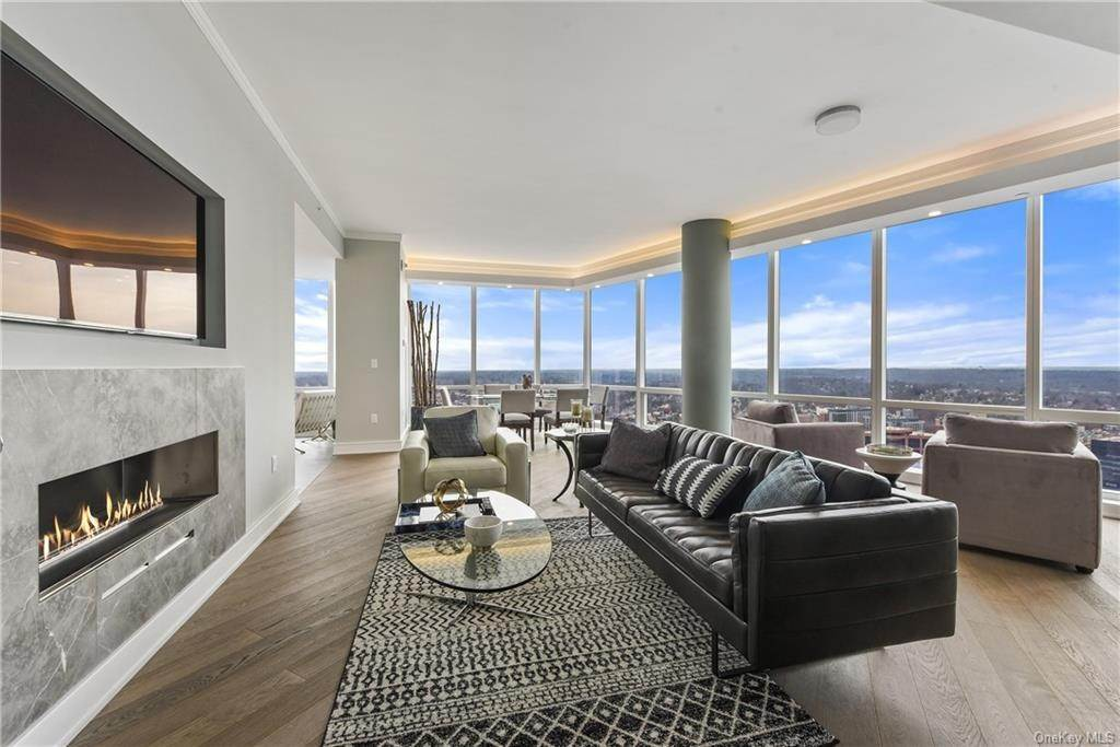 Residential for Sale at 5 Renaissance Square # 39PH8G, White Plains, NY 10601 White Plains, New York 10601 United States