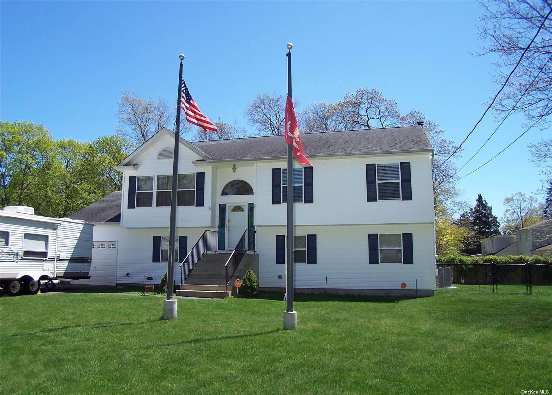 Residential for Sale at 206 Dogwood Road Mastic Beach, New York 11951 United States