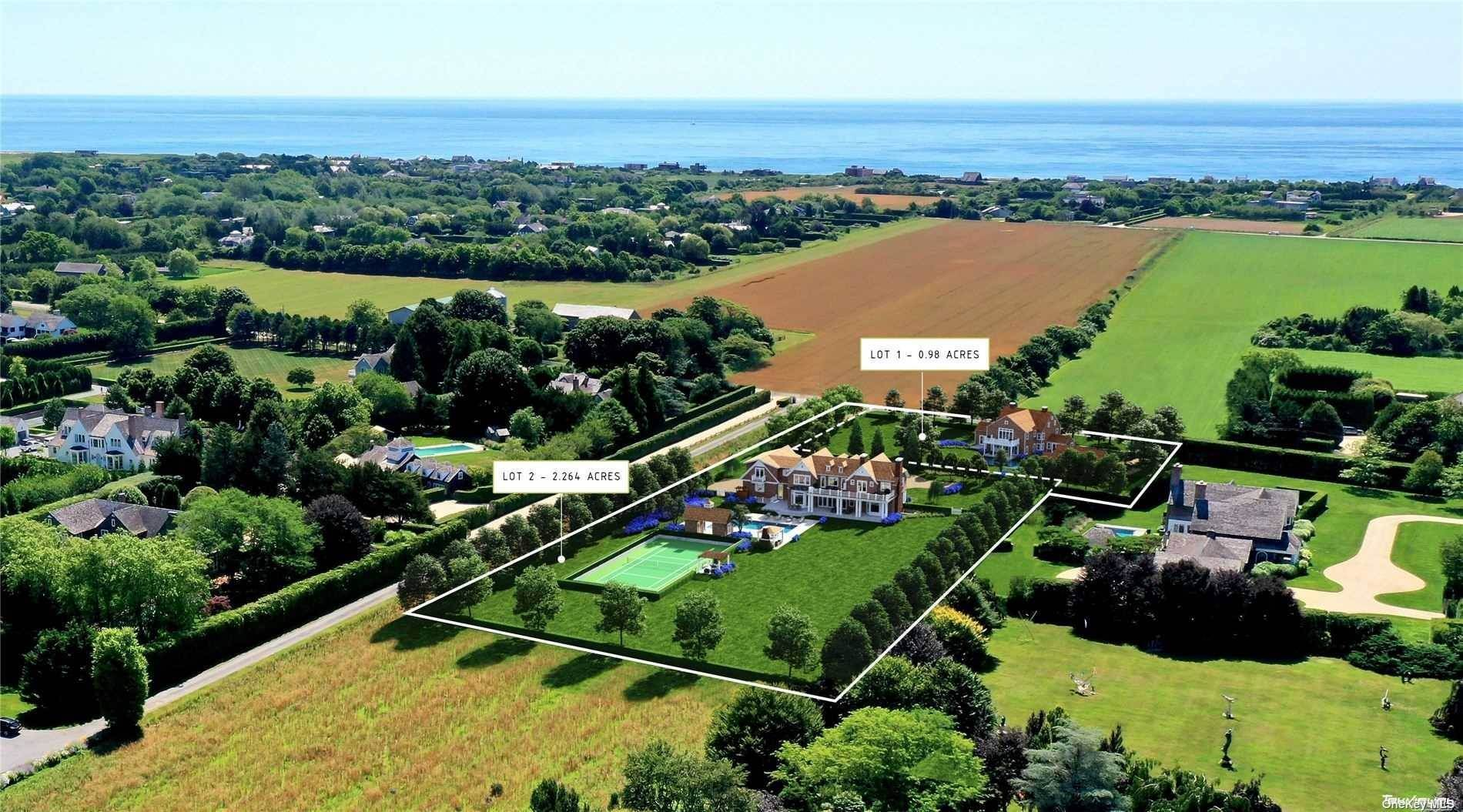 Residential for Sale at 414 & 414A Hedges Lane Sagaponack, New York 11962 United States