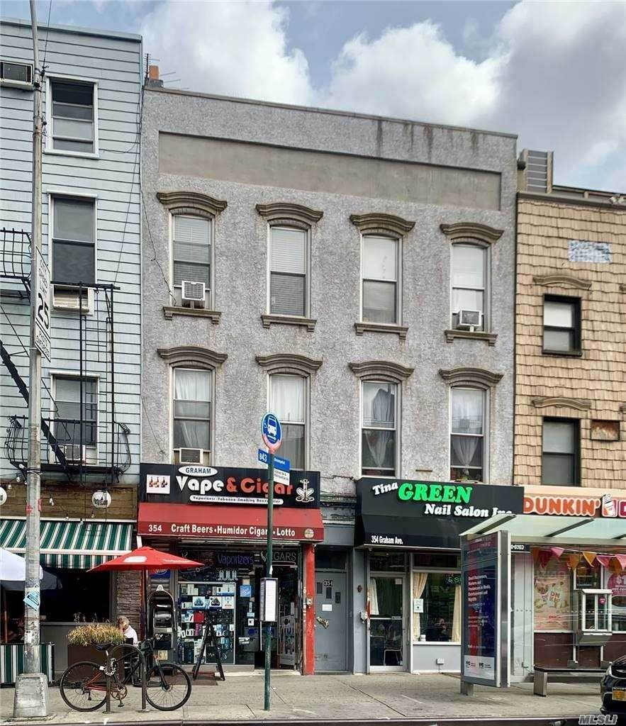 Residential Income for Sale at 354 Graham Avenue, Williamsburg, NY 11211 Brooklyn, New York 11211 United States