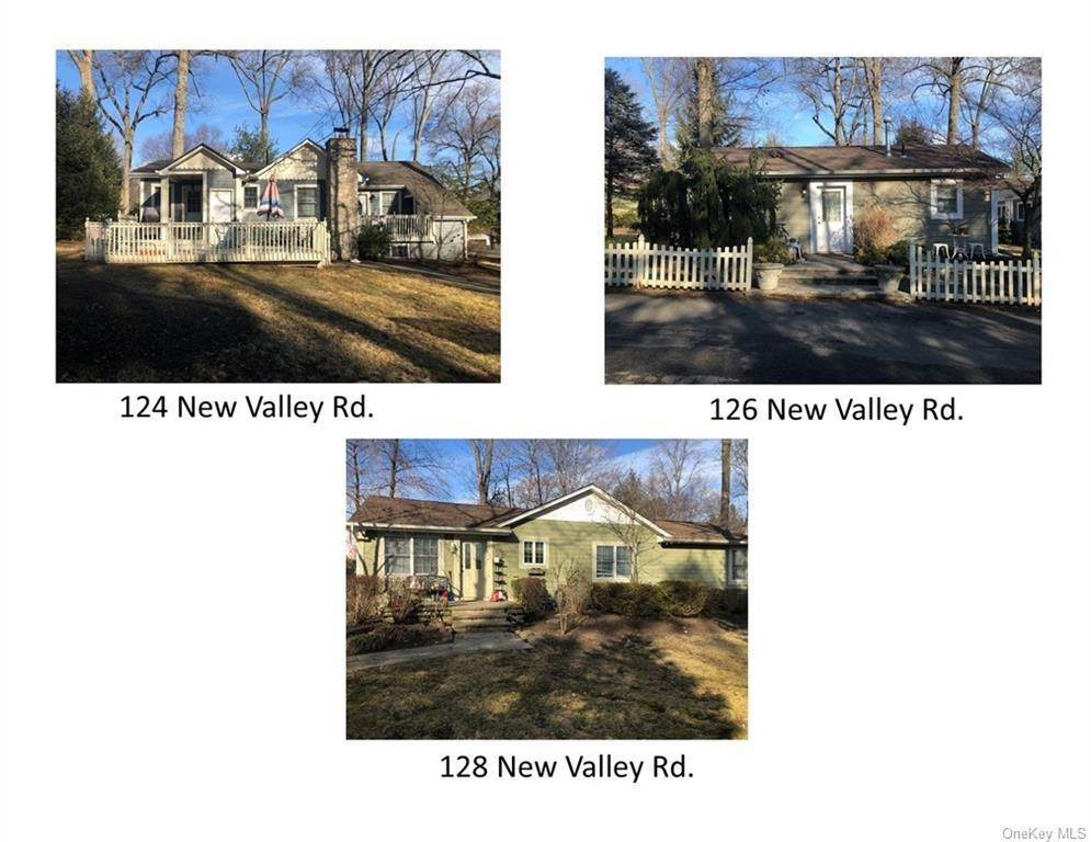 Residential Income for Sale at 124, 126, 128 New Valley Road, Clarkstown, NY 10956 New City, New York 10956 United States