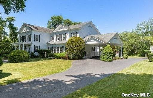 Residential Income for Sale at 1728 Montauk Highway Water Mill, New York 11976 United States