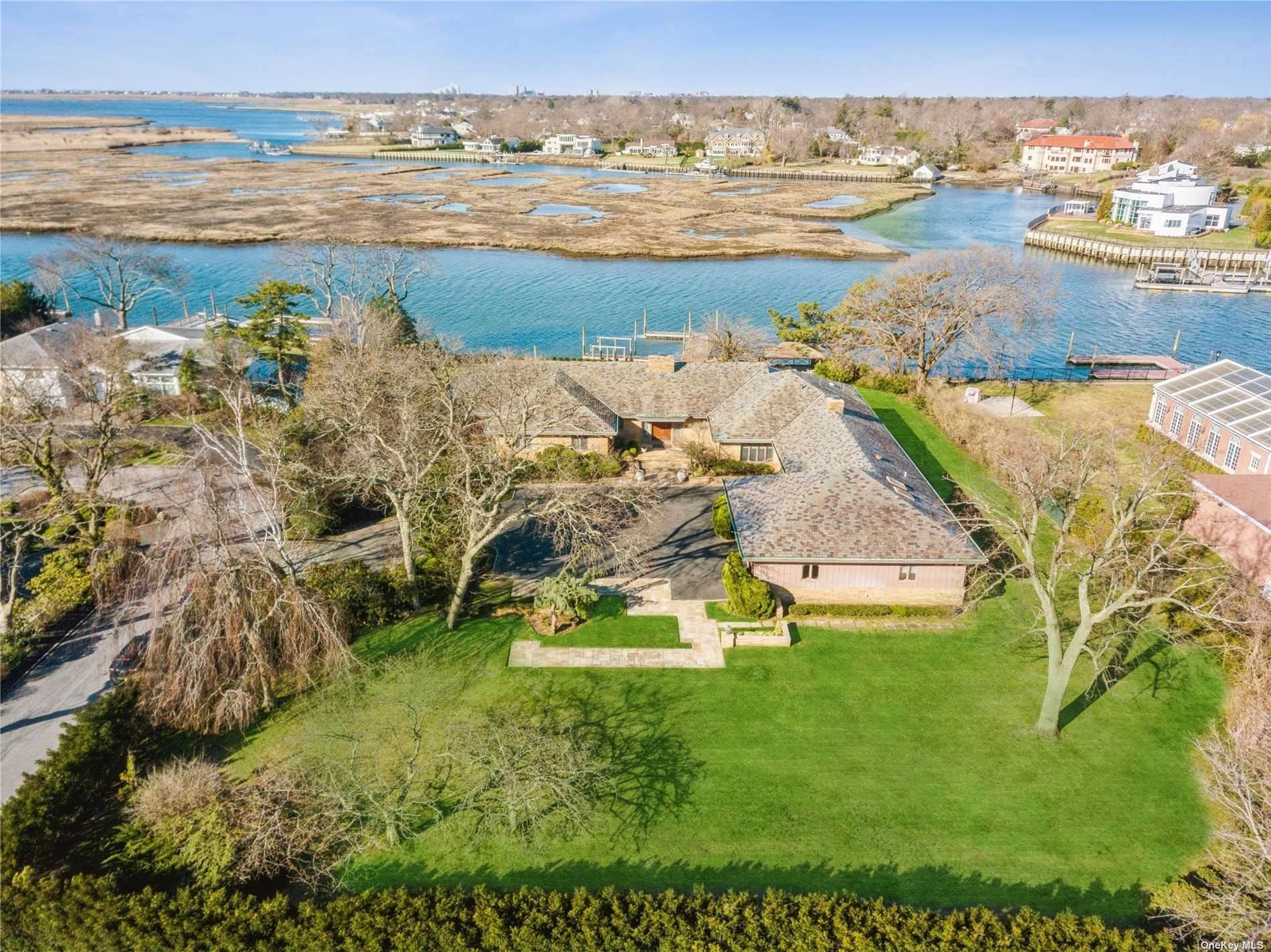 Residential for Sale at 1050 Seawane Drive Hewlett Harbor, New York 11557 United States
