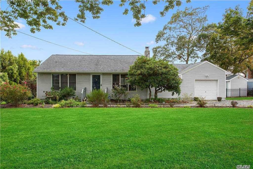 Residential for Sale at 125 Crystal Beach Boulevard, Moriches, NY 11955 Moriches, New York 11955 United States