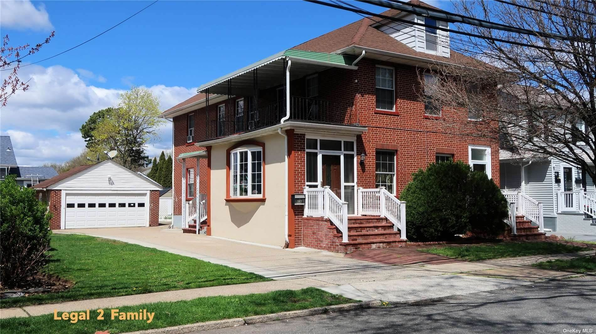 Residential Income for Sale at 66 - 68 Birch Street Floral Park, New York 11001 United States