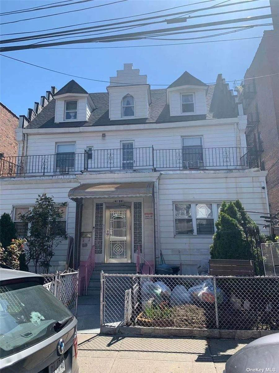 Residential Income for Sale at 41-68 Gleane Street Elmhurst, New York 11373 United States