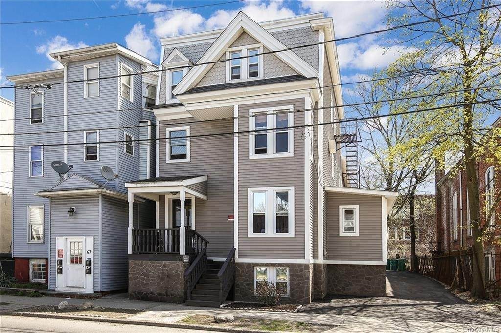 Residential Income for Sale at 69 Academy Street Poughkeepsie, New York 12601 United States