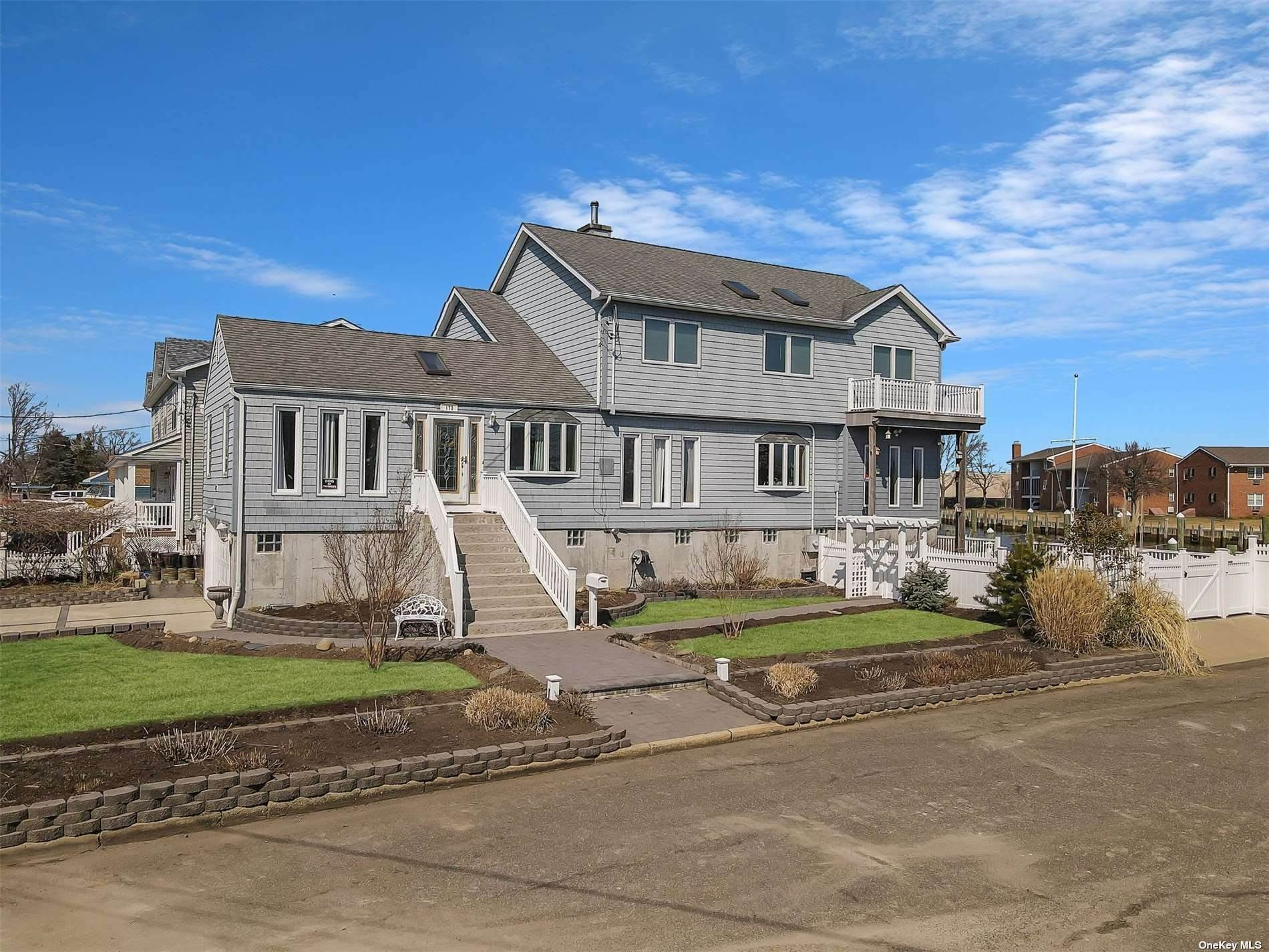Residential for Sale at 172 W Lake Drive Lindenhurst, New York 11757 United States