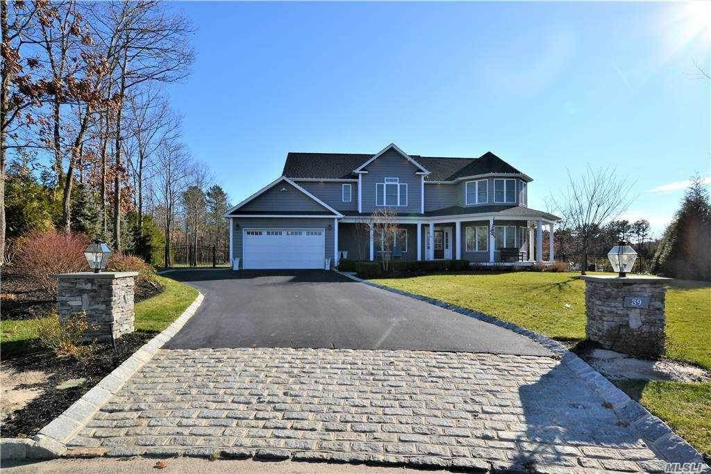 Residential for Sale at 39 Blackberry Lane, Center Moriches, NY 11934 Center Moriches, New York 11934 United States