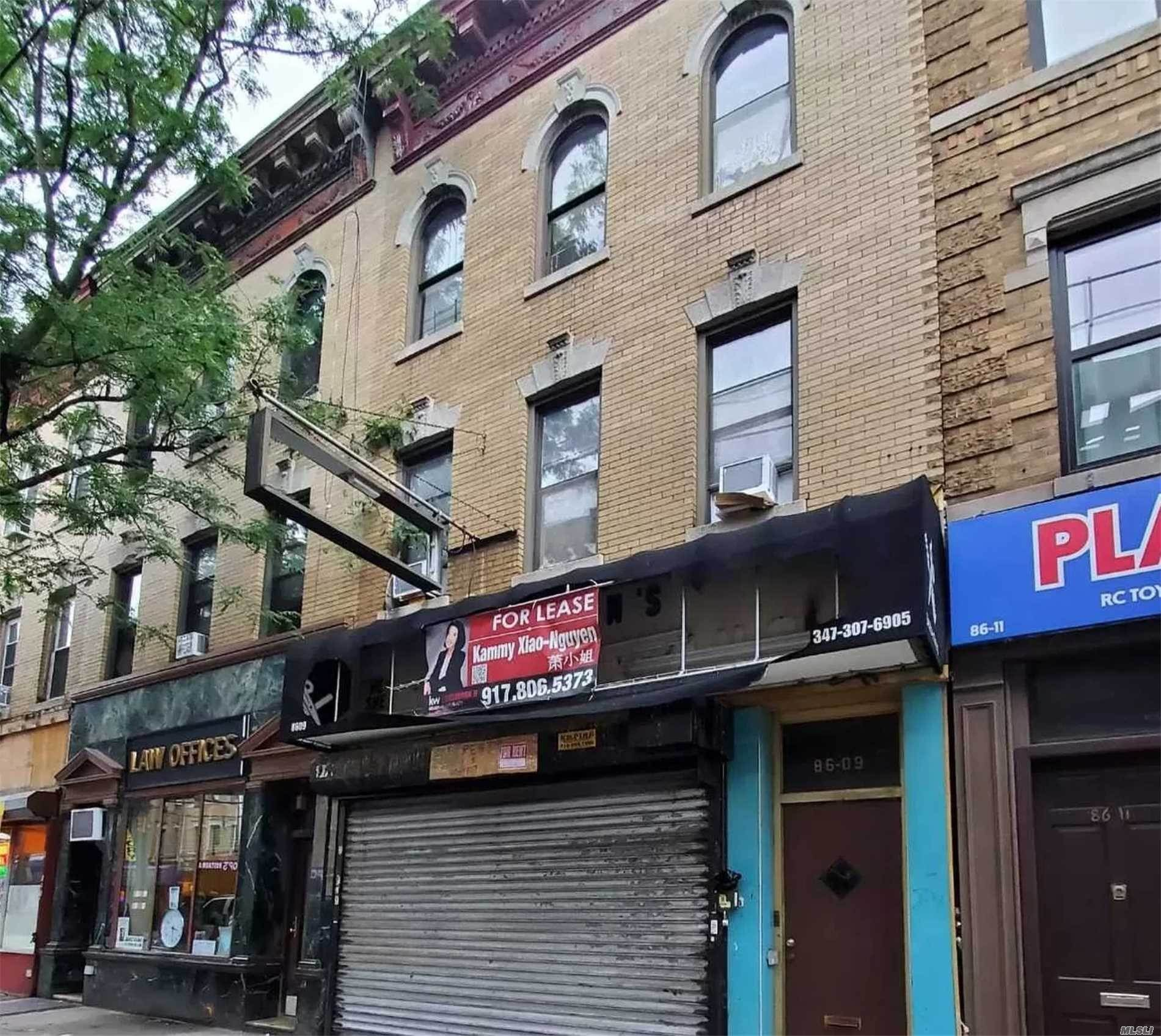 Residential Income for Sale at 86-09 Jamaica Avenue Woodhaven, New York 11421 United States