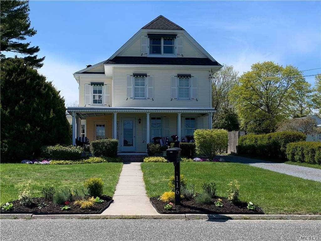 Residential for Sale at 116 Lake Avenue, Center Moriches, NY 11934 Center Moriches, New York 11934 United States