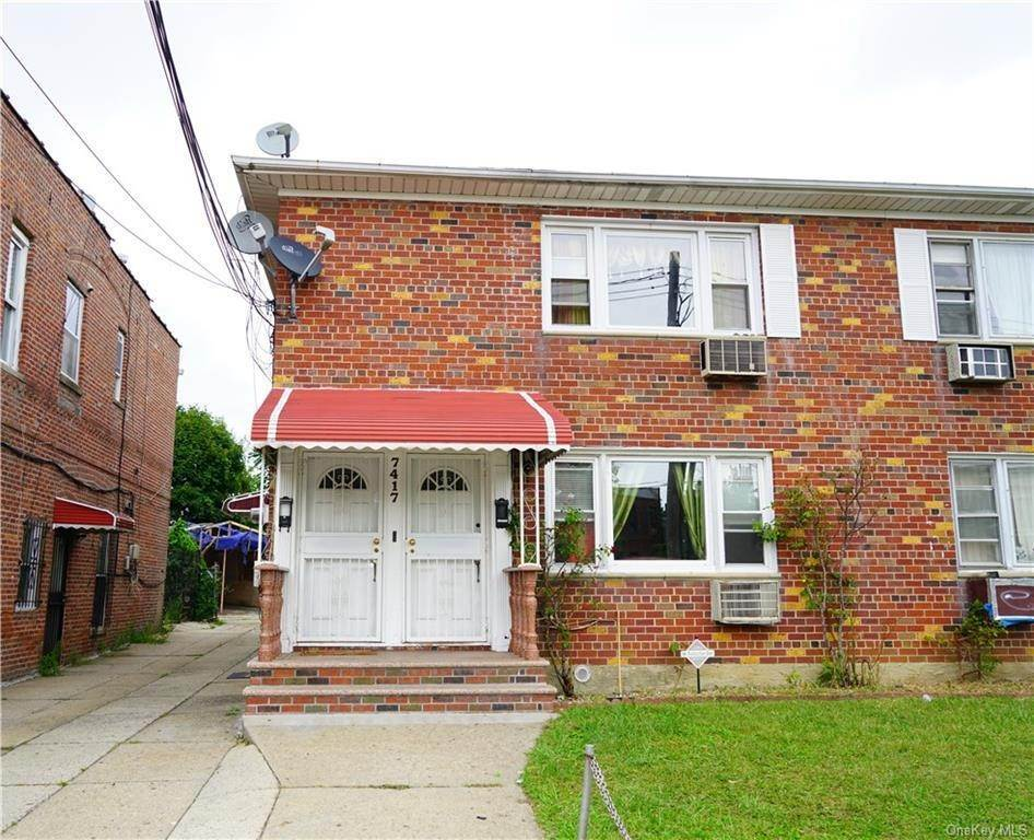 Residential Income for Sale at 7417 Rockaway Boulevard Woodhaven, New York 11421 United States