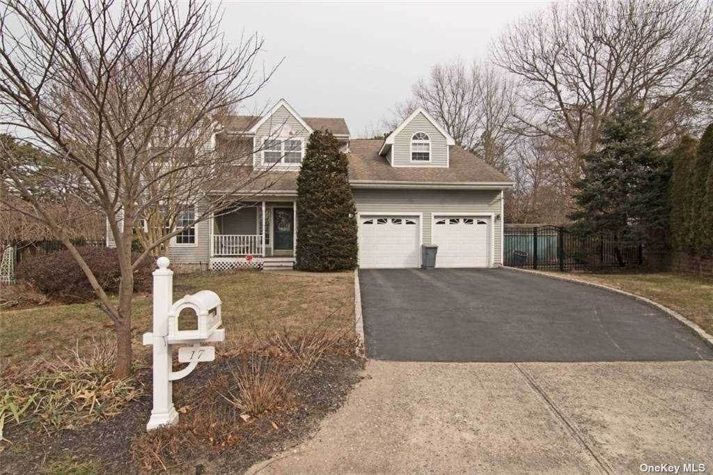 Residential for Sale at 17 Ethan Allan Court Centereach, New York 11720 United States