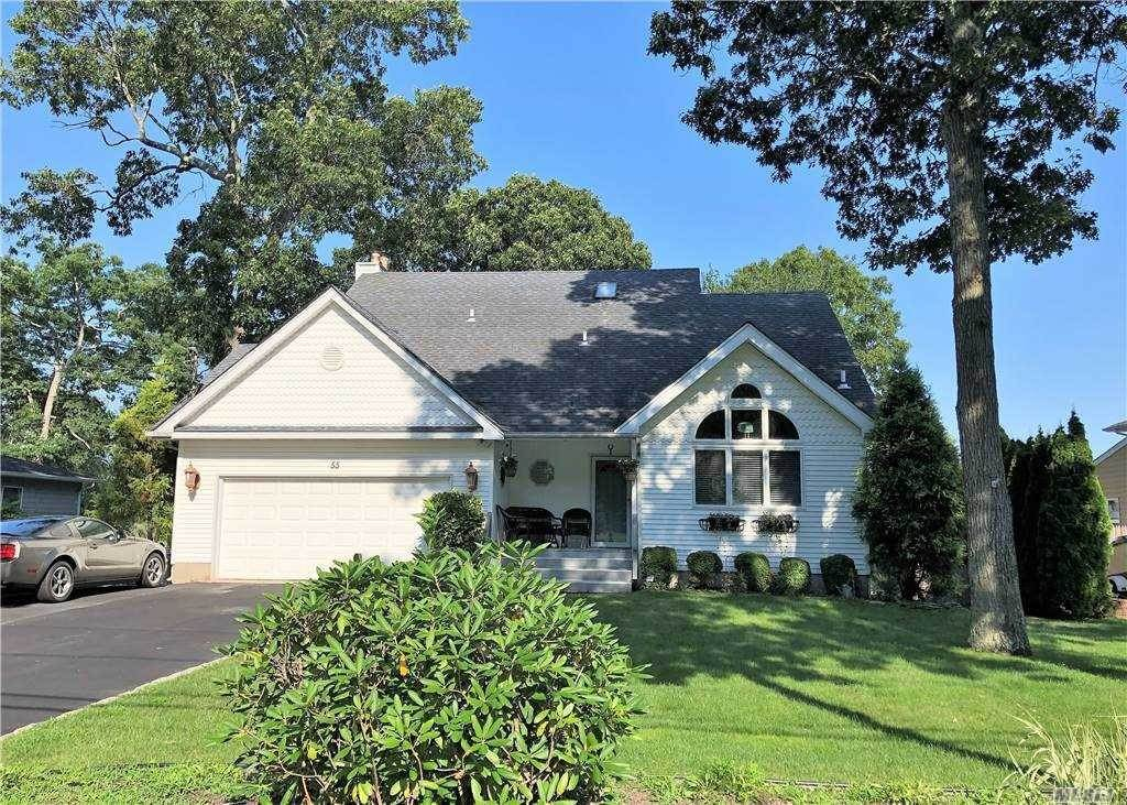 Residential for Sale at 55 Crystal Beach Boulevard, Moriches, NY 11955 Moriches, New York 11955 United States
