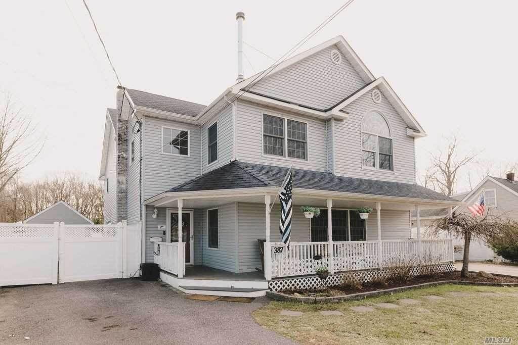 Residential for Sale at 387 Mcconnell Avenue, Bayport, NY 11705 Bayport, New York 11705 United States