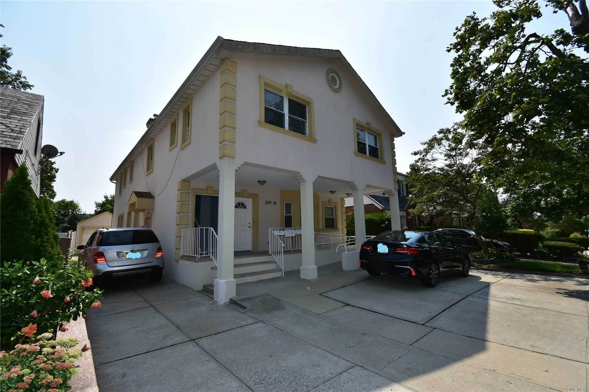 Residential Income for Sale at 209-14 Whitehall Terrace, Queens Village, NY 11427 Queens Village, New York 11427 United States
