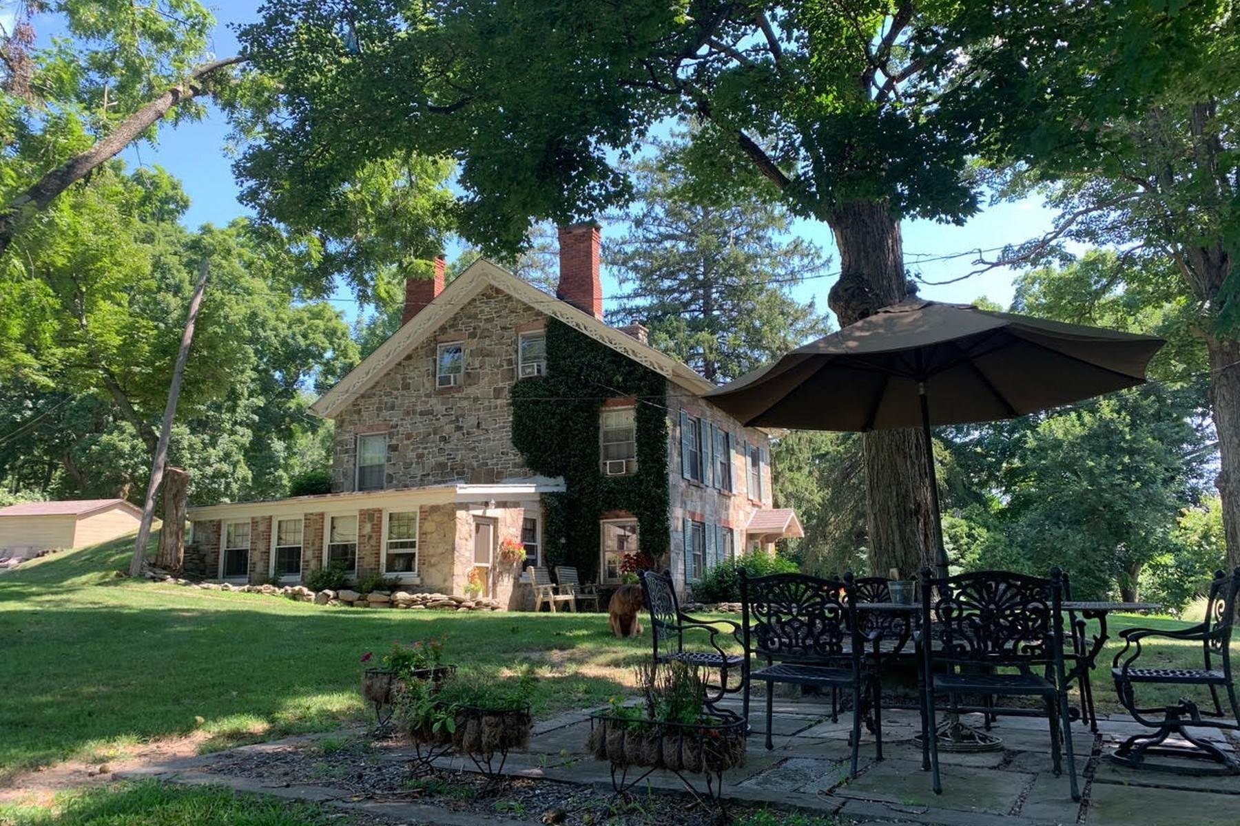23. Single Family Homes for Sale at c. 1842 Second Empire Stone House 473 Orrs Mills Road Cornwall, New York 12553 United States