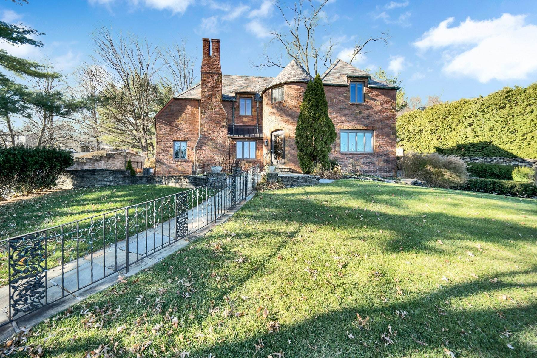 Single Family Homes for Sale at Village Brick Tudor 17 Wisner Terrace Goshen, New York 10924 United States