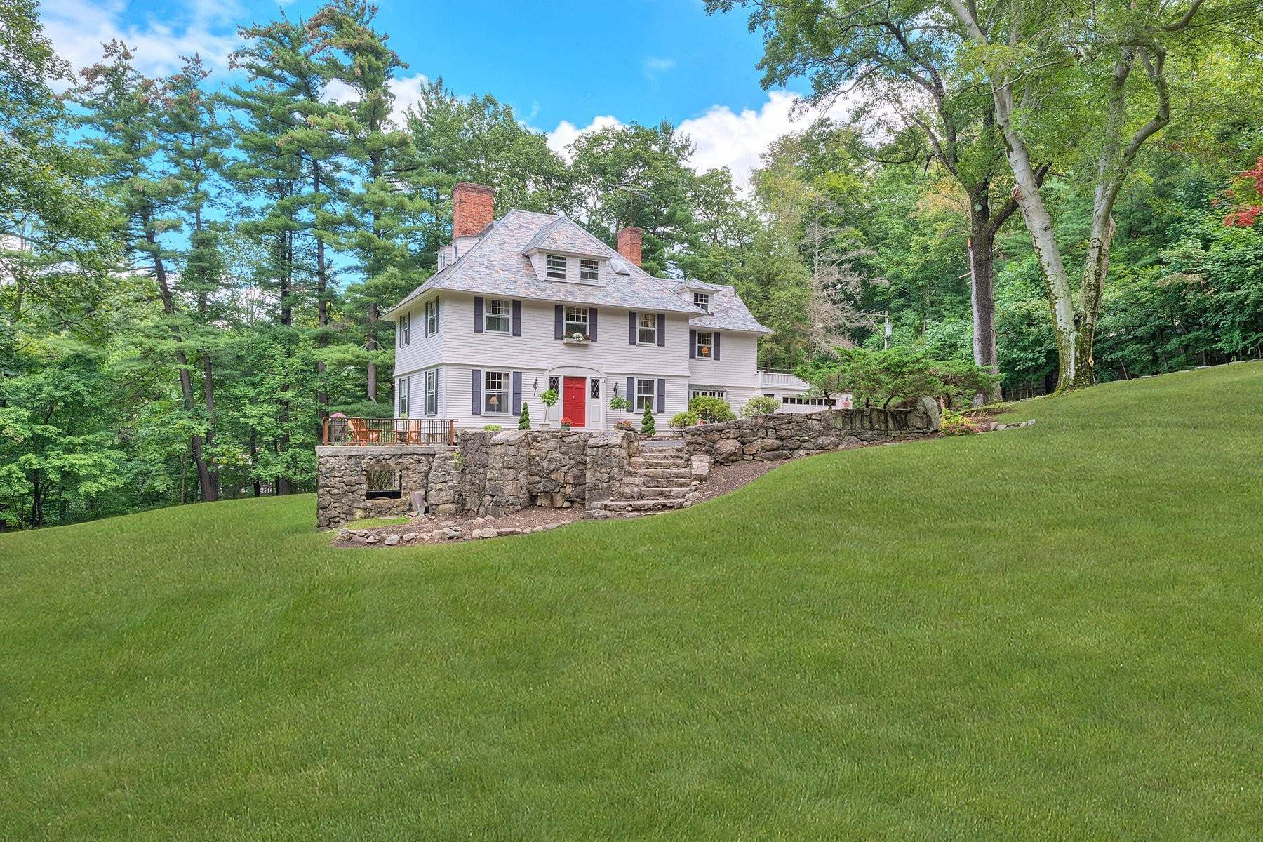 3. Single Family Homes for Sale at 'Horace Waldo Cottage' 160 Continental Road Tuxedo Park, New York 10987 United States