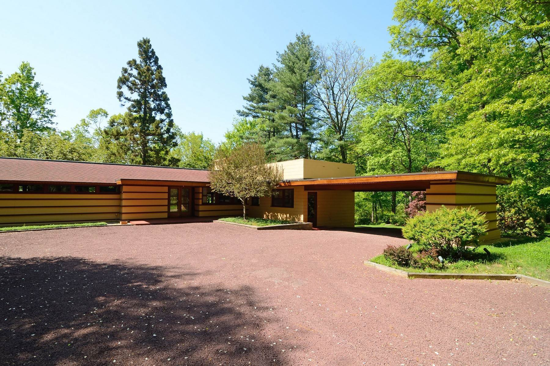 Single Family Homes at Frank Lloyd Wright Designed Home 48 Clausland Mountain Road Blauvelt, New York 10913 United States