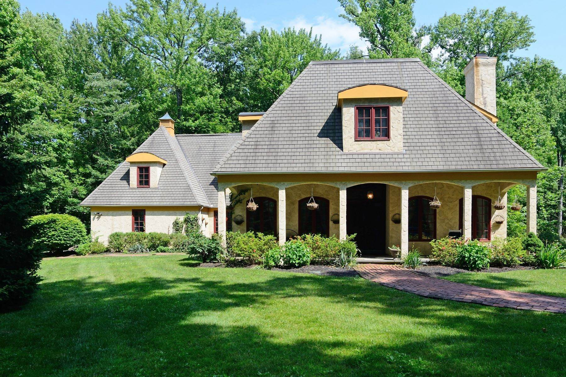 Single Family Homes at French Inspired Cottage 129 Washington Spring Road Palisades, New York 10964 United States