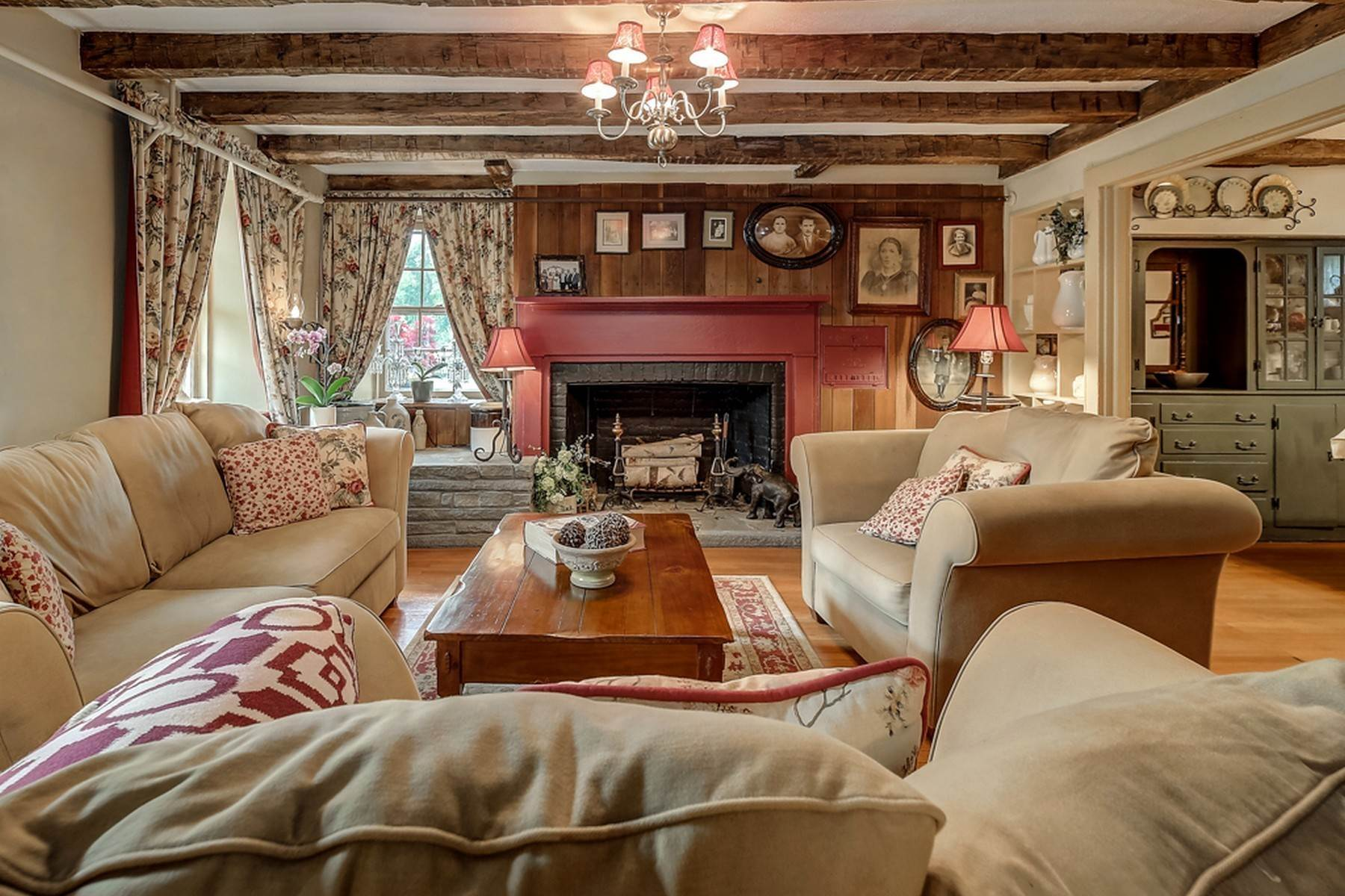 10. Single Family Homes for Sale at c. 1842 Second Empire Stone House 473 Orrs Mills Road Cornwall, New York 12553 United States