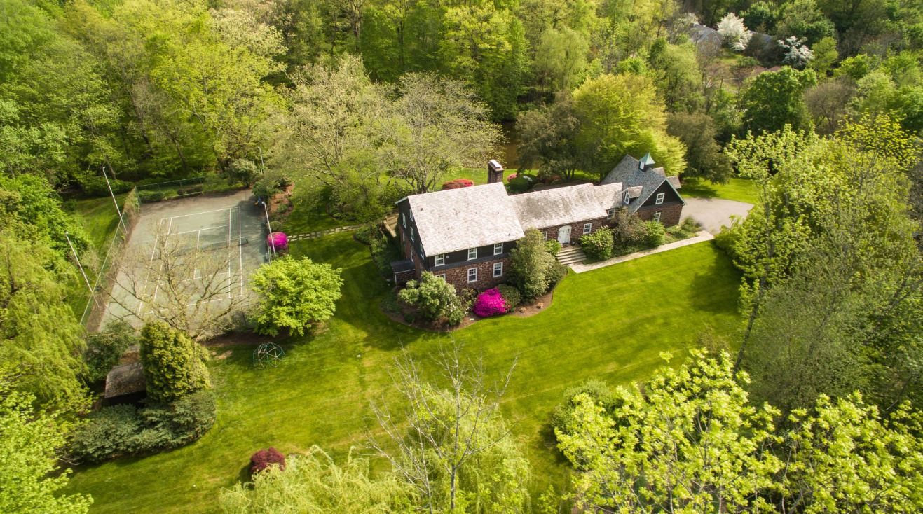 374 South Mountain Road is just 40 minutes to New York City and listed for $1.299 million.