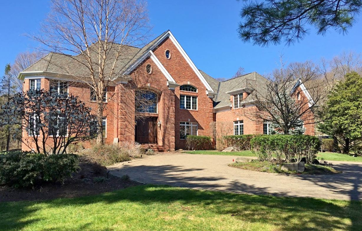 637 South Mountain Road is a custom-designed all brick home available for $1.425 million.