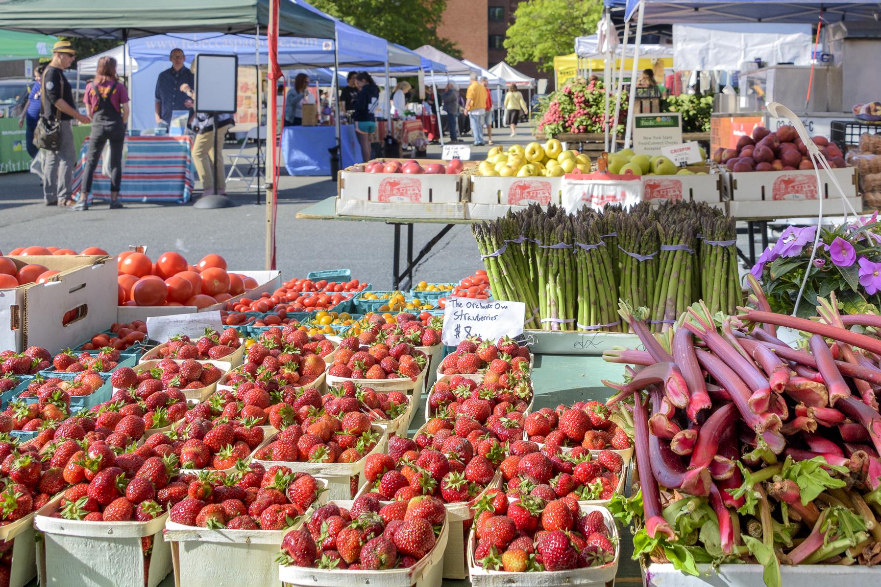 farmer's markets lower hudson valley